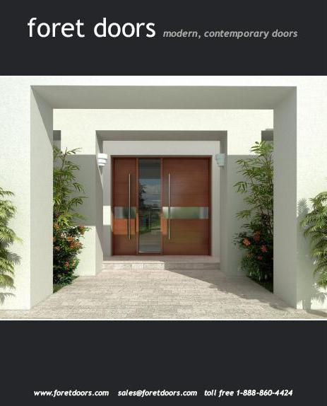 Catalog Foret Doors Modern Designs